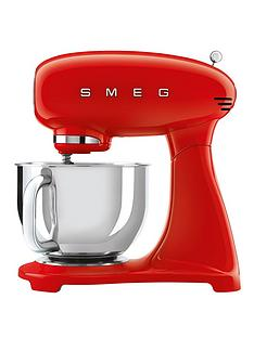 Smeg Red 50s Style Stand Mixer (Full Colour)