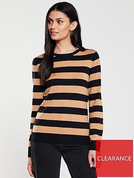 v-by-very-supersoft-crew-neck-jumper-stripe