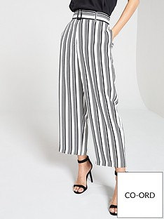 wallis-mono-stripe-high-wide-leg-trousers-blackwhite