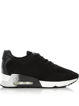 ash-lucy-knitted-bubble-sole-trainers-black