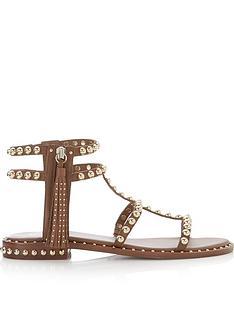 ash-power-tassel-gladiator-sandals-tan