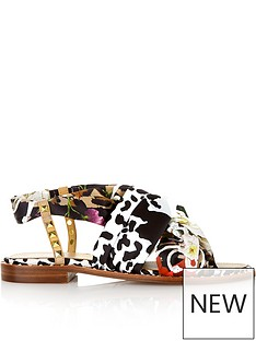 ash-playa-fabric-and-stud-sandals-multicolour