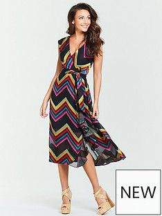 a399896aca5 Michelle Keegan Burnout Midi Dress - Multi