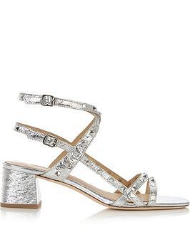 ash-iman-stud-detail-block-heel-shoes-silver