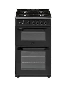 hotpoint-hd5g00kcb-50cm-wide-gas-cooker-with-grillnbsp--black