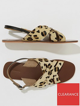 warehouse-cross-front-slingback-sandals-leopard-print