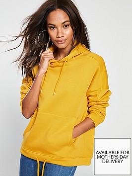 v-by-very-oversizednbsphoodie-mustard