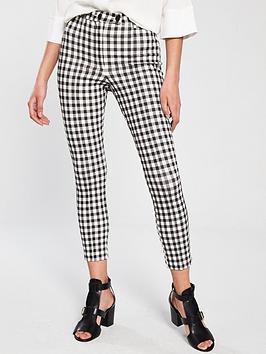 river-island-gingham-skinny-trousers