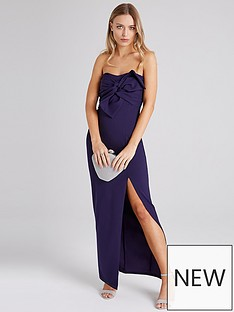 girls-on-film-bow-front-scuba-crepe-maxi