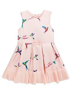 973f11b7c Baker by Ted Baker Toddler Girls Scuba Prom Dress - Pale Pink