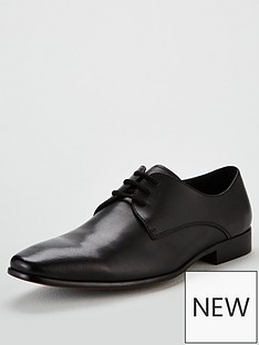 office-glide-plain-toe-lace-up-shoe
