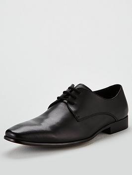 office-glide-plain-toe-lace-up-shoe