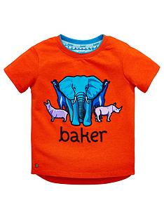 7adf6799c Baker by Ted Baker Toddler Boys Safari Placement T-Shirt - Red