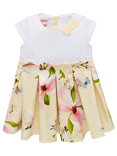 b5204756f Baker by Ted Baker Toddler Girls Scalloped Mockable Dress - Yellow