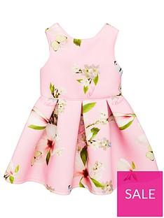 db8b11012 Baker by Ted Baker Girls Harmony Scuba Dress - Light Pink