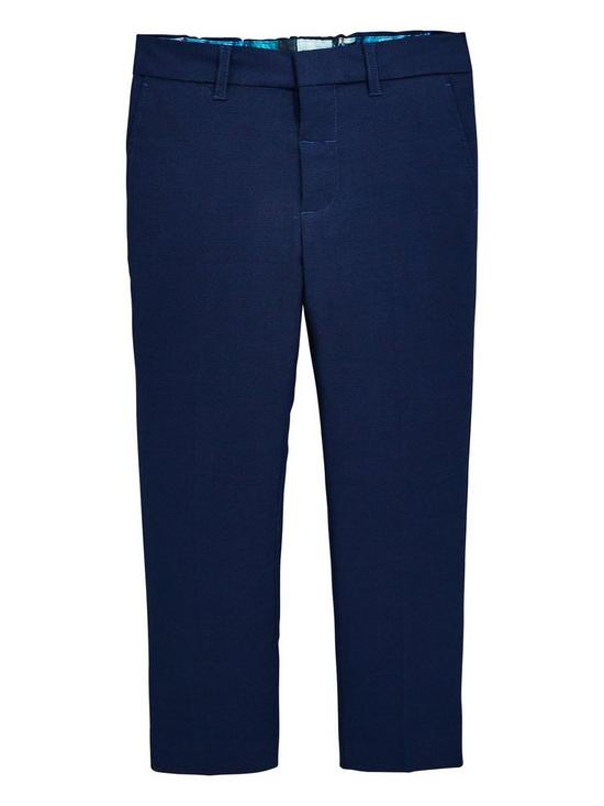 f72af1121e36 Baker by Ted Baker Boys Formal Trousers - Navy