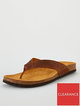office-darwin-thong-sandal-brown