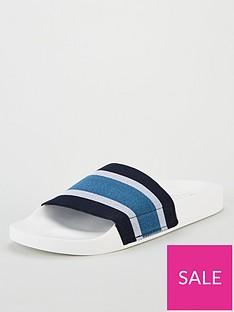office-flume-elastic-sandal-whiteblue