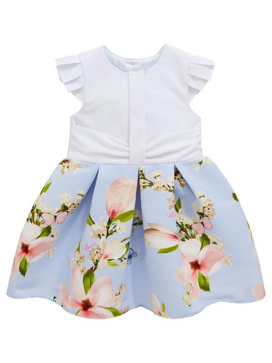 a229d2333 Baker by Ted Baker Toddler Girls Harmony Mockable Dress - Light Blue ...