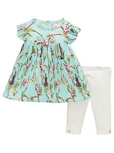 baker-by-ted-baker-baby-girls-floral-plisse-top-amp-legging-outfit-light-green