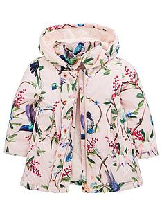 3070ecbeda438e Baker by Ted Baker Toddler Girls Floral Swing Mac - Pale Pink