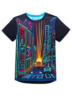 50fdb2c0cb5df Baker by Ted Baker Boy City Short Sleeve T-shirt