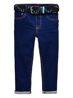 53d6e79a18b9 Baker by Ted Baker Boys Cobalt Jeans with Belt - Blue