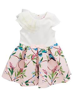 6f098d5b5bca1a Baker by Ted Baker Toddler Girls Border Mockable Dress