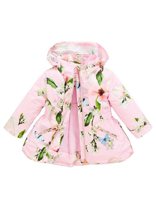 607e806f1a06 Baker by Ted Baker Girls Harmony Light Weight Coat