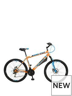 Boss Cycles Boss Vortex Steel Mens Mountain Bike 18 inch Frame