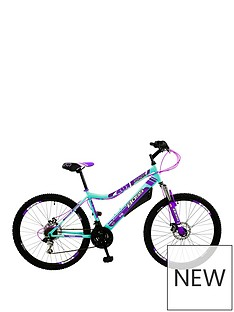 Boss Cycles Pulse Front Suspension Ladies Mountain Bike 16 inch Frame