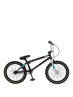 Zombie Zombie Infest Boys BMX with Giro and 1 Set of Pegs 12 inch Frame