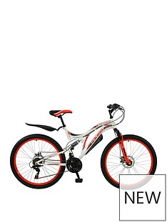 Boss Cycles Boss Ice White Ladies Mountain Bike 18 inch Frame