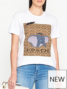 coach-disney-xnbspcoach-dumbo-signature-print-t-shirt-white