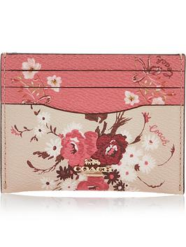 coach-floral-print-card-holder-multi
