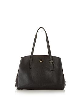 coach-charlie-structured-shopper-black