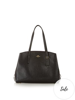 coach-charlie-structured-shopper-black