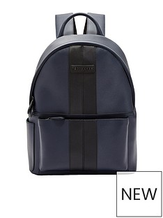 ted-baker-ted-baker-twill-pu-backpack