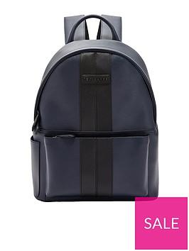 ted-baker-twill-pu-backpack