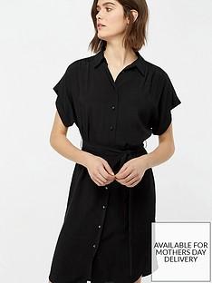 monsoon-denny-plain-dress-black