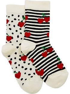 wauw-capow-by-bang-bang-copenhagen-girls-berry-boom-contrast-socks-creamblack