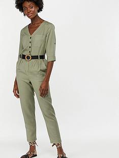 7e1e7948db2 Monsoon Jane Utility Jumpsuit - Green