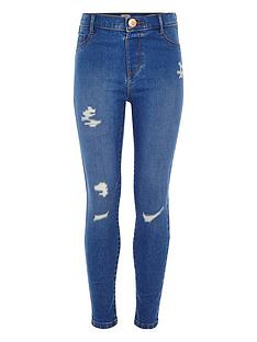 river-island-girls-molly-distressed-mid-rise-jegging-blue