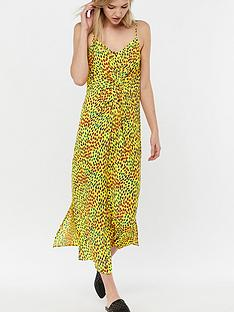 monsoon-anya-animal-print-midi-dress-yellow