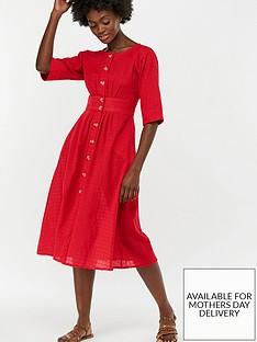 monsoon-etna-cotton-midi-dress-red
