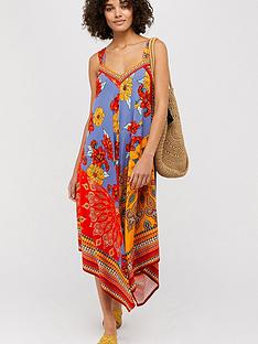 monsoon-jolene-jersey-scarf-print-maxi-dress-orange