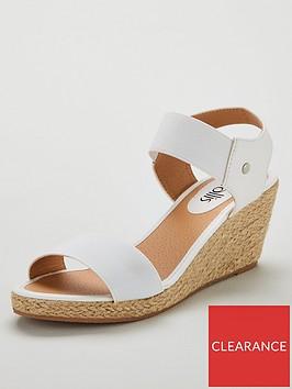 wallis-elastic-strap-espadrille-wedges-white