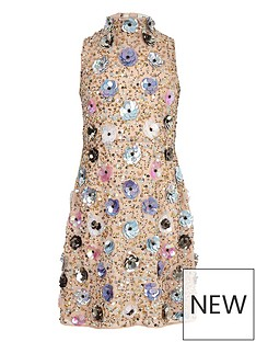 river-island-girls-3d-flower-embellished-dress-beige