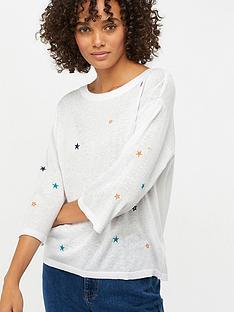 monsoon-soph-star-embroidered-linen-blend-jumper-ivory