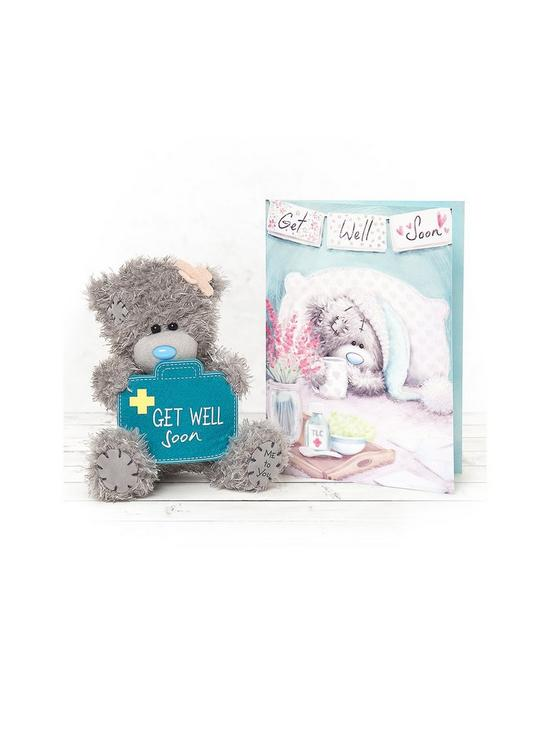 203e1510858 Me To You Me To You Get Well Soon Bear and Greeting Card Set